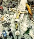 Bílé ukřižování - Marc Chagall, 1938