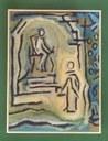 Corinne Vonaesch: Ježíš před Pilátem (http://www.c-vonaesch.ch)