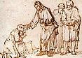 Rembrandt: Kristus uzdravuje malomocného (http://www.biblical-art.com)